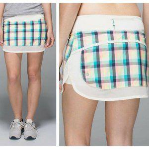 Lululemon 6 Hotty Hot Skort Skirt